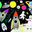 Thumbnail: Rocket Space Jigsaw Puzzle- 40 piezas