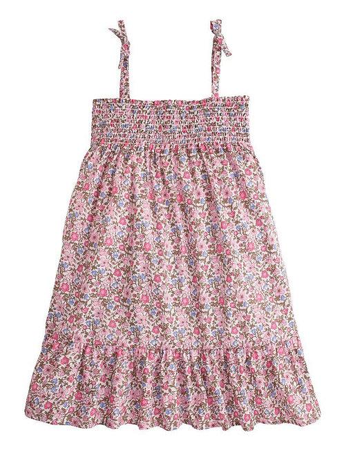 Lucy Dress Pink Petite Garden