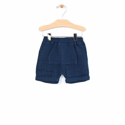 Midnight Blue Kangaroo Pocket Short