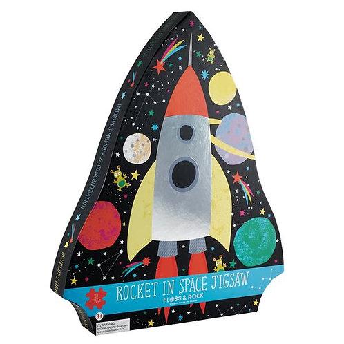 Rocket Space Jigsaw Puzzle- 40 piezas