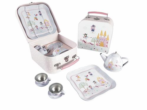 Fairy Unicorn Tin Tea Set 7pz