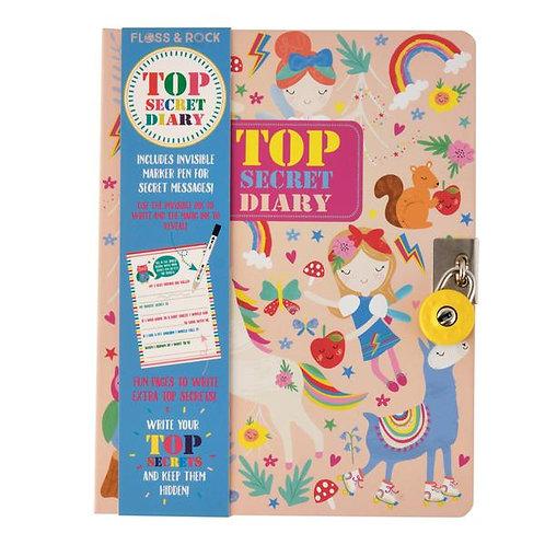 Rainbow Fairy Top Secret Diary