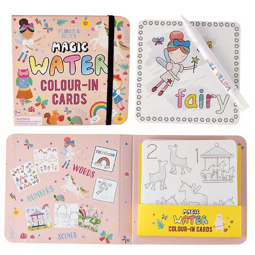 Rainbow Fairy Water Cards