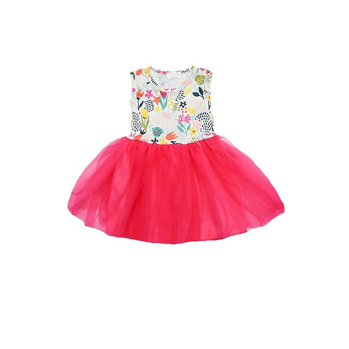 Flower Market Tank Tutu Dress