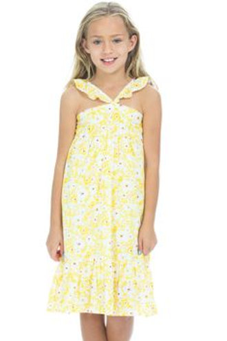Yellow Soho Floral Dress