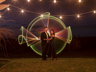 Light Painting Portraits at The Elephant Door