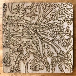 Ajrakh inspired tiles