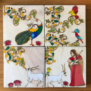 Indian Themed Coasters