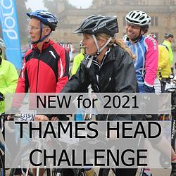 Charity Bike Rides Thames Head Challenge