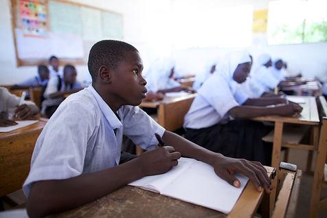 Gambian secondary school