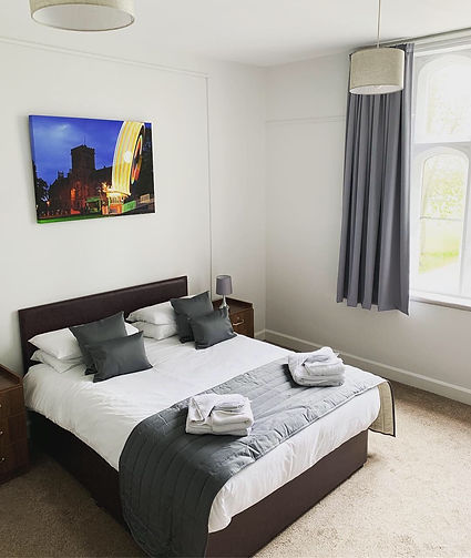 Bed and Breakfast Room at the Royal Agriculltural University