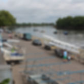 Putney Embankment, start of the Thmes Head Challenge