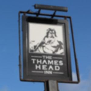 The Thames Head Inn sign