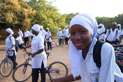 Bikes4Africa - Gambian schools