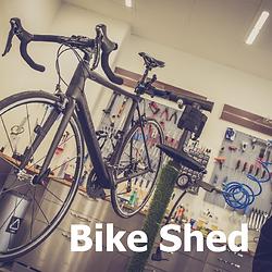Bike Shed at My Racing Pig