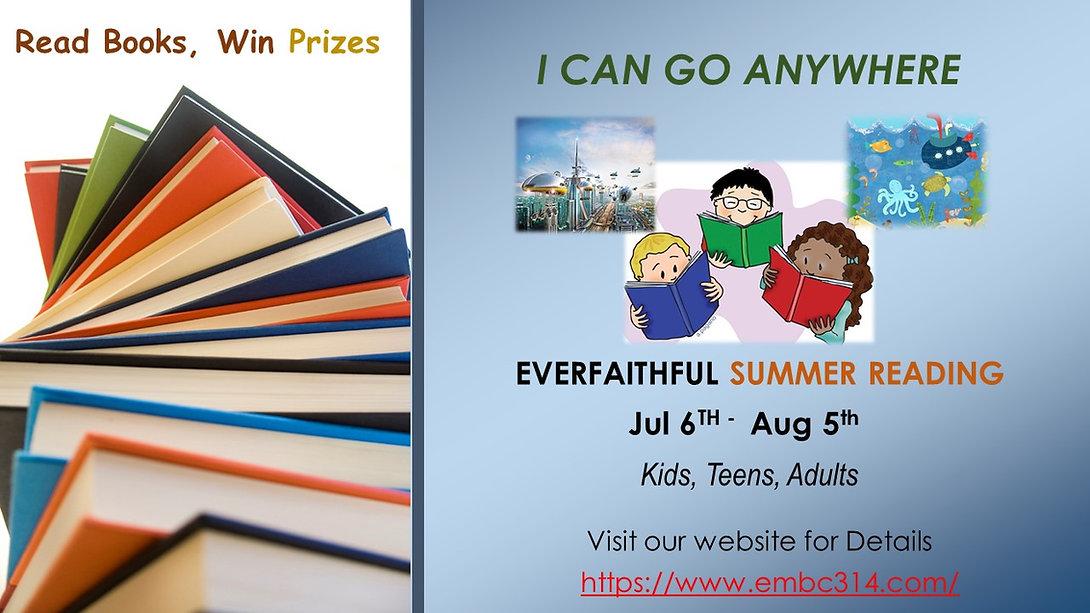 EMBC Summer Reading Program 2020 Announc
