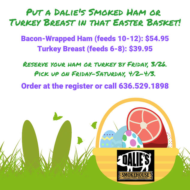 Easter Hams are Back!