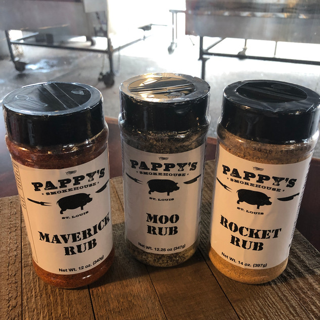 Now Available! Pappy's Rubs