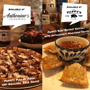 Pappy's & Anthonino's Team Up!