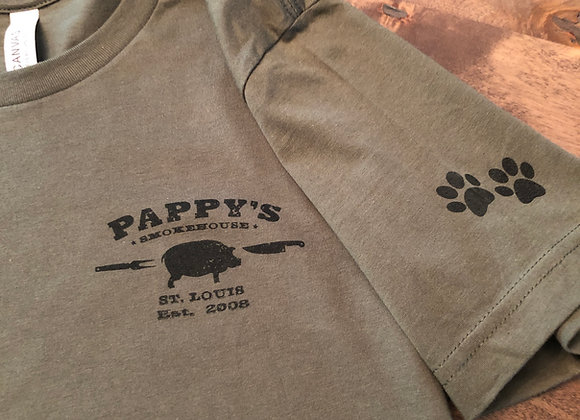 Pappy's Dogs For Our Brave T-shirt