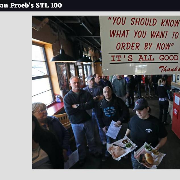 Ian Froeb's STL 100, 3/3/19