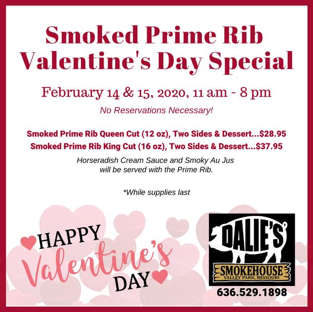 Valentine's Day Prime Rib
