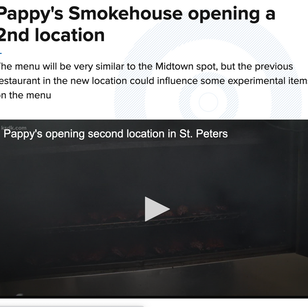 KSDK-TV Pappy's Smokehouse St. Peters