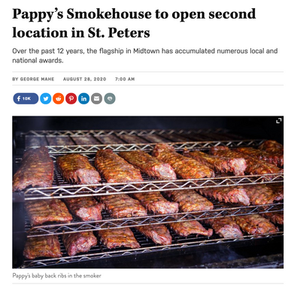 Pappy's Smokehouse 2nd Location