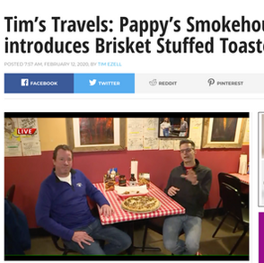 Tim's Travels Visits Pappy's Smokehouse