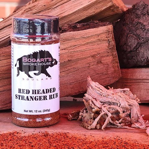 Red Headed Stranger Rub
