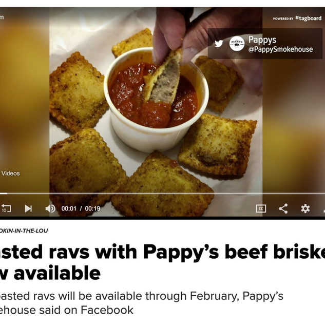 KSDK - Pappy's Toasted Ravioli
