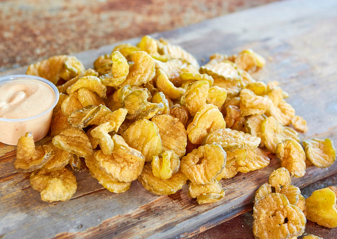 Fried Fire & Ice Pickles