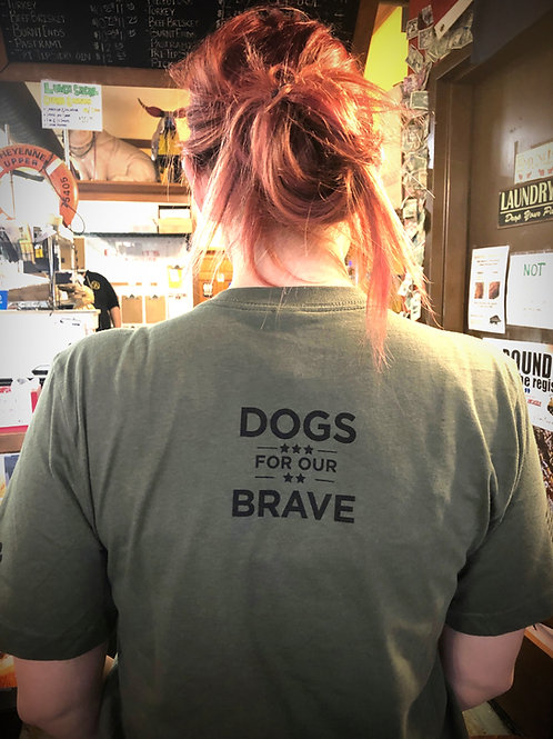 Bogart's Dogs For Our Brave T-Shirt