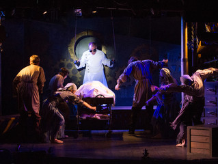 It's Alive! FRANKENSTEIN - THE MUSICAL Rises at Players Theatre