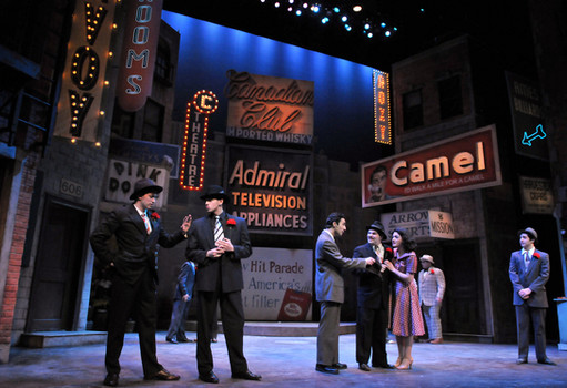 As Big Jule in Emerson Stage's GUYS AND DOLLS. Photo credit: Craig Bailey/Prespective Photo