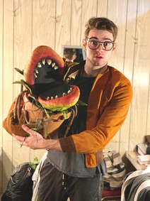Seymour u/s - LITTLE SHOP OF HORRORS at The Mac-Haydn Theatre