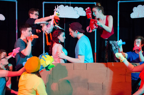As Prince Eric in Kidding Around's THE LITTLE MERMAID. Photo credit: Michelle Slivinski Photography