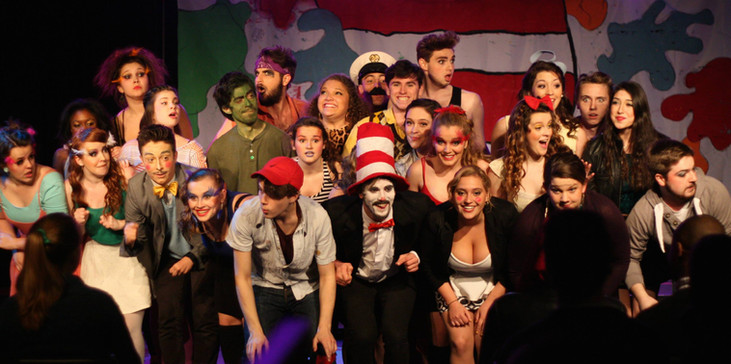 As Whickersham in Kidding Around's SEUSSICAL. Photo credit: Emma Young Photography