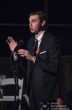 Performing at Emerson College's 2016 EMERSON FIGHTS AIDS GALA. Photo credit: Aaron Kenigsberg Photography.