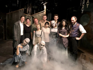 Happy Halloween from the Off-Broadway Cast of FRANKENSTEIN - THE MUSICAL