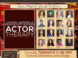 Actor Therapy at 54 Below!