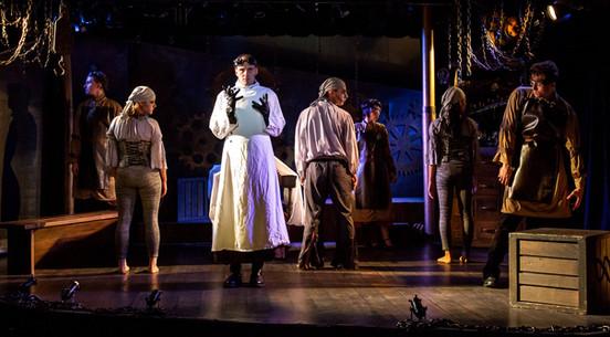 The Players Theatre's FRANKENSTEIN Off Broadway. Photo credit: Martin Harris