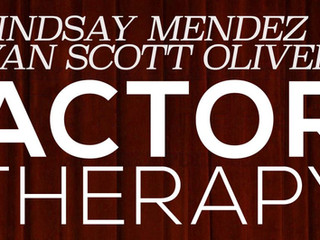 Joe Hornberger returns to 54 Below with Lindsay Mendez and Ryan Scott Oliver's ACTOR THERAPY!
