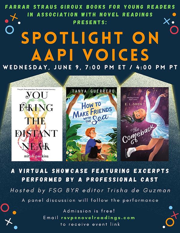 IMAGE Spotlight on AAPI Voices Poster v5