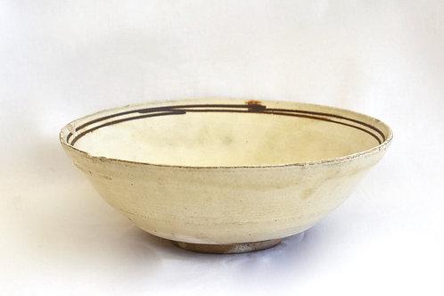 磁州窯の器(平茶碗)