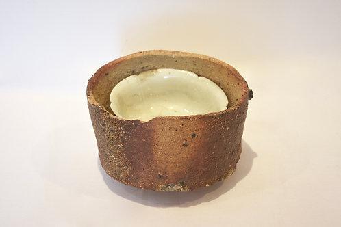 宋 白磁 輪花鉢と型枠
