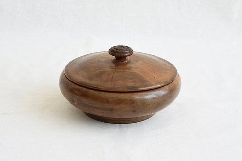木製 蓋付き器