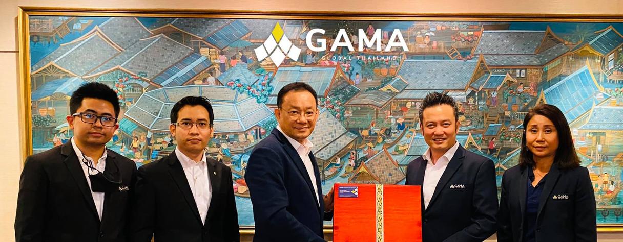 คุณวิทูร เลิศพนมวรรณ นายกสมาคมพร้อมด้วยคณะกรรมการบริหารสมาคมผู้จัดการและเจ้าของสำนักงานตัวแทนประกันชีวิต GAMA Thailand เข้าพบคุณไชย ไชยวรรณ กรรมการผู้จัดการใหญ่ บมจ. ไทยประกันชีวิต และคณะผู้บริหารระดับสูง เพื่อสวัสดีปีใหม่และขอบคุณที่ให้การสนับสนุนกิจกรรม GAMA ในประเทศไทย