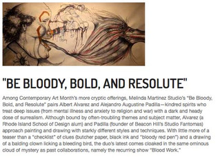 Be Bloody, Bold, and Resolute