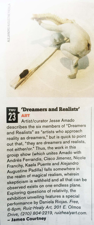 San Antonio Current, 'Dreamers & Realists'